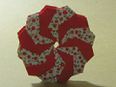 Origami Tutorial: Eifel-Stern (Hans-Werner Guth)