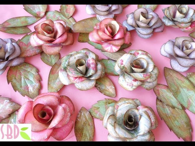 Paper roses and butterflies - ENG Series