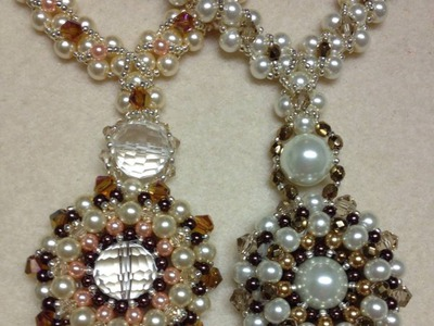 Pearl Wheel Necklace Tutorial