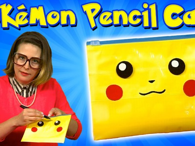 "Pokemon DIY Pencil Case - ""Back to School"" Crafts for Kids"