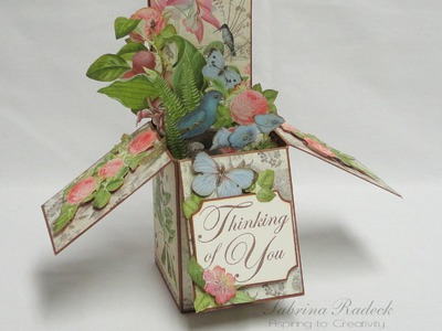 Pop Up Box Card Tutorial