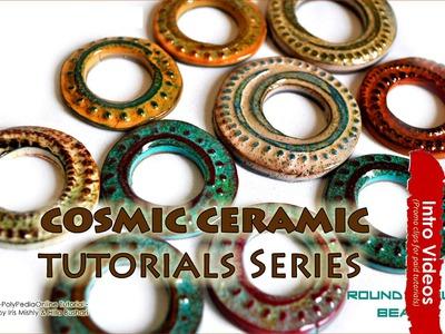 PROMO INTRO Cosmic Ceramic Tutorial 20+ Ideas How To Polymer Clay Faux Ceramic Tutorial