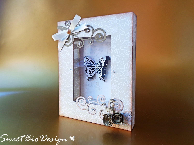 Quadretto con farfalla Natalizio - Christmas Butterfly Frame ft. Dawanda