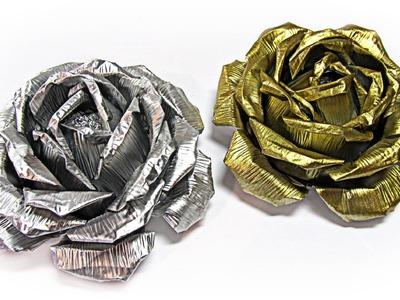 Rosas de aluminio. Aluminium roses.