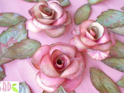 Rose e Farfalle di Carta - Paper Roses and Butterflies