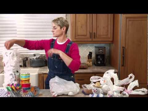 Sophie-World: Plastic bag bunnies
