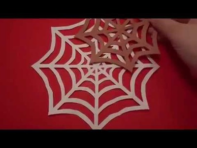 Spider Web: An easy Halloween Craft for kids!!