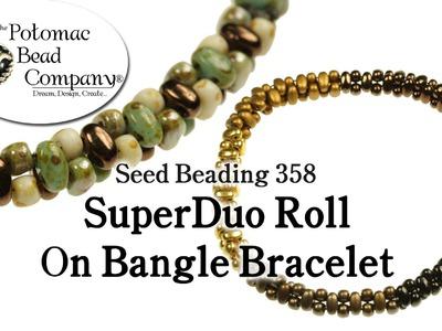 SuperDuo Roll On Bangle Bracelet
