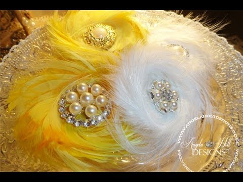 The Best Feather Flower Tutorial