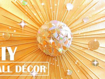 Turn Old CDs into Wall Decor | DIY Tumblr Room Decor | DIY Wall Decor | DIY Vintage Room Decor