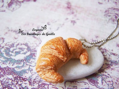 Tuto Fimo Le croissant - Polymer tutorial: French croissant