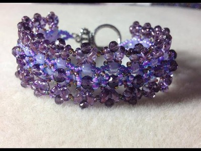 (Tutorial) Beaded Chantilly Lace Bracelet (Video 6)