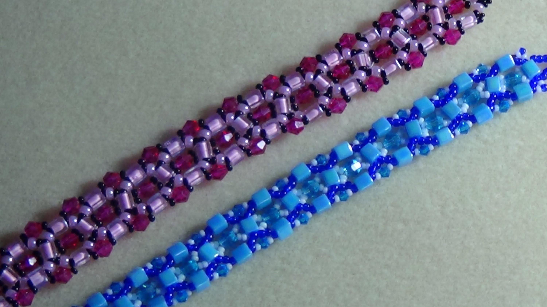 (Tutorial) Crystal Beaded Bracelet (Video 3)