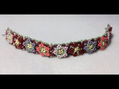 (Tutorial) Garden Of Love Bracelet PART 1 (Video 44)
