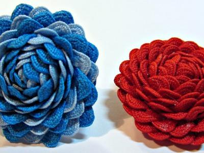 Tutorial: Rosas Chic. Chic roses.
