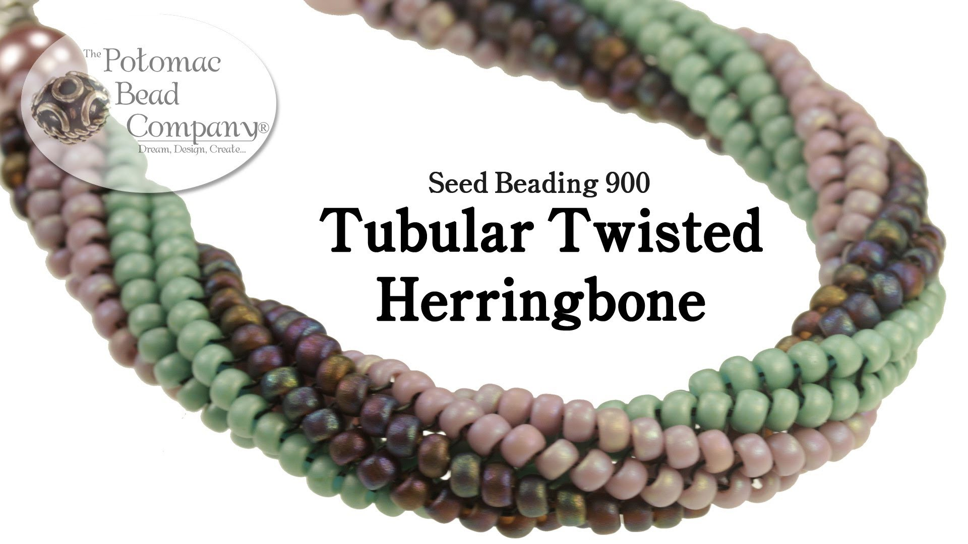 Twisted Tubular Herringbone Stitch