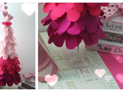 Valentines Day DIY: Ombre Heart Tree