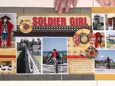 3 Tips to Scrapbook Your Patterned Paper Stash