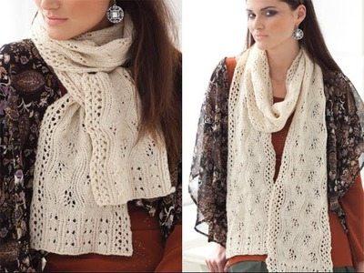 #34 Lace Scarf, Vogue Knitting Fall 2011