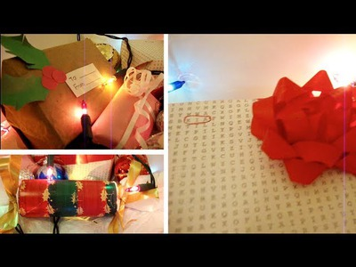 4 Holiday DIY Gift Wrapping Ideas (Christmas, Valentines, Hanukkah, Birthdays, etc)