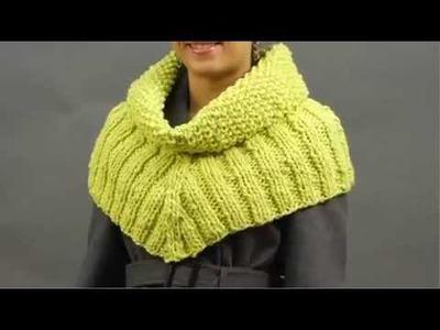 #9 Seed Stitch Cowl, Vogue Knitting Holiday 2009
