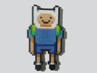 Adventure Time Perler Bead Finn Tutorial