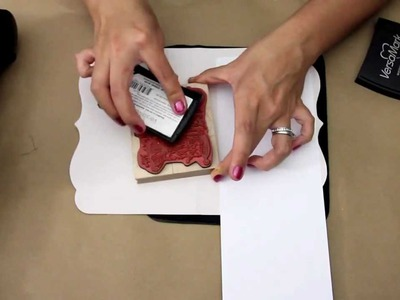 All about embossing. Scrapbooking 101