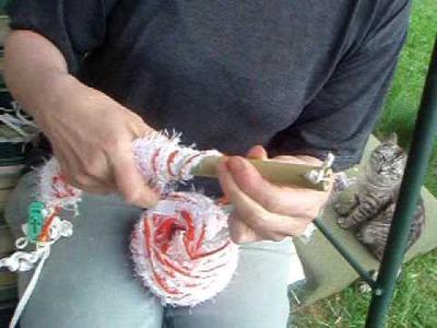 Bambusová pletací hůlka (Bamboo Knitting Magic Wand) - part 2.3
