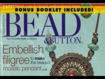 Bead + Button Magazine USA 2.2013