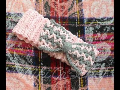Πλεκτη Κορδελα. Crochet Headband Tutorial