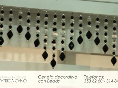 Cenefa Decorativa con Beads