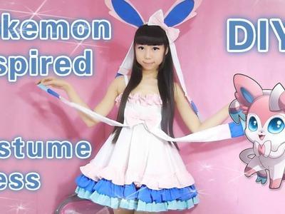 Cosplay DIY - Pokemon Sylveon Inspired Costume.Dress ( Easy)
