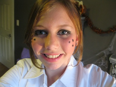 Count-Down To Halloween: Day Four (DIY -- Preppy School Girl Costume)