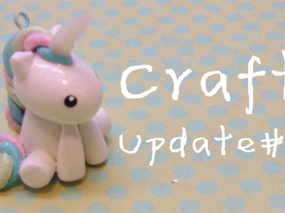 Craft Update #8 (clay charms, resin, perler beads)