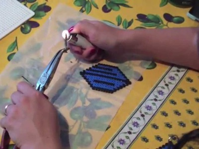 [Crafting] Tutorial Hama Beads.Pyssla: il portachiavi