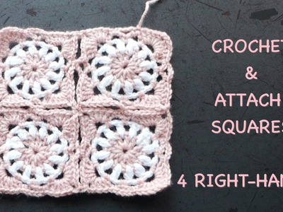 CROCHET ALONG - Square Motifs 4 Baby Vest - Part 1.2 (4 Right-Handed)