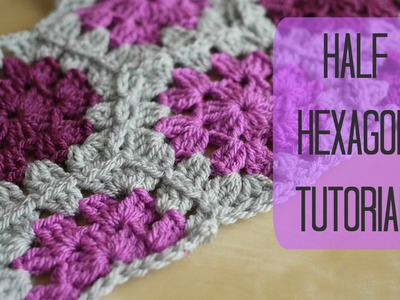 CROCHET: Half hexagon tutorial | Bella Coco
