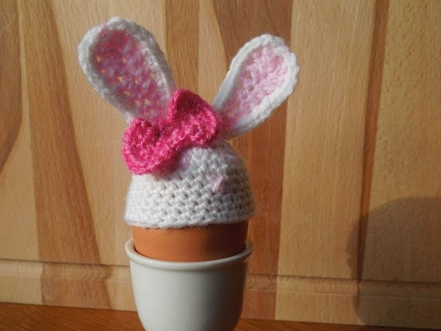 (Crochet) How To - Crocheggimals - No1 Rabbit Egg Cover