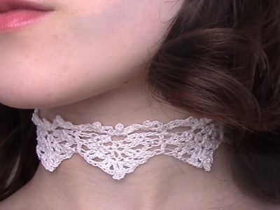 Crochet Lace | Small Elegant Peaks