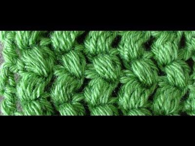 Crochet Puff Stitch - Puff Stitch