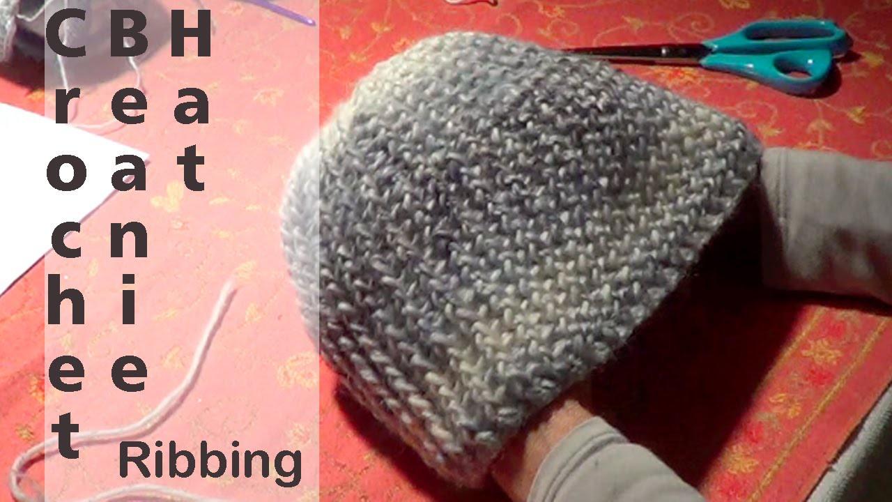 Crochet Ribbing Beanie Hat