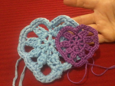 Cuore all'uncinetto con schema | Crochet heart tutorial with chart