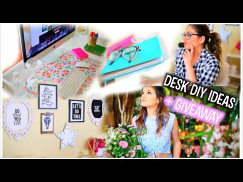 Desk Makeover: DIY Organization + My Essentials!