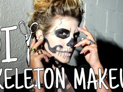 DIWhyNot: DIY Stylish Skeleton Makeup
