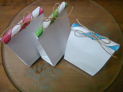 DIY : #3 Cute Paper Bags For Gift ♥