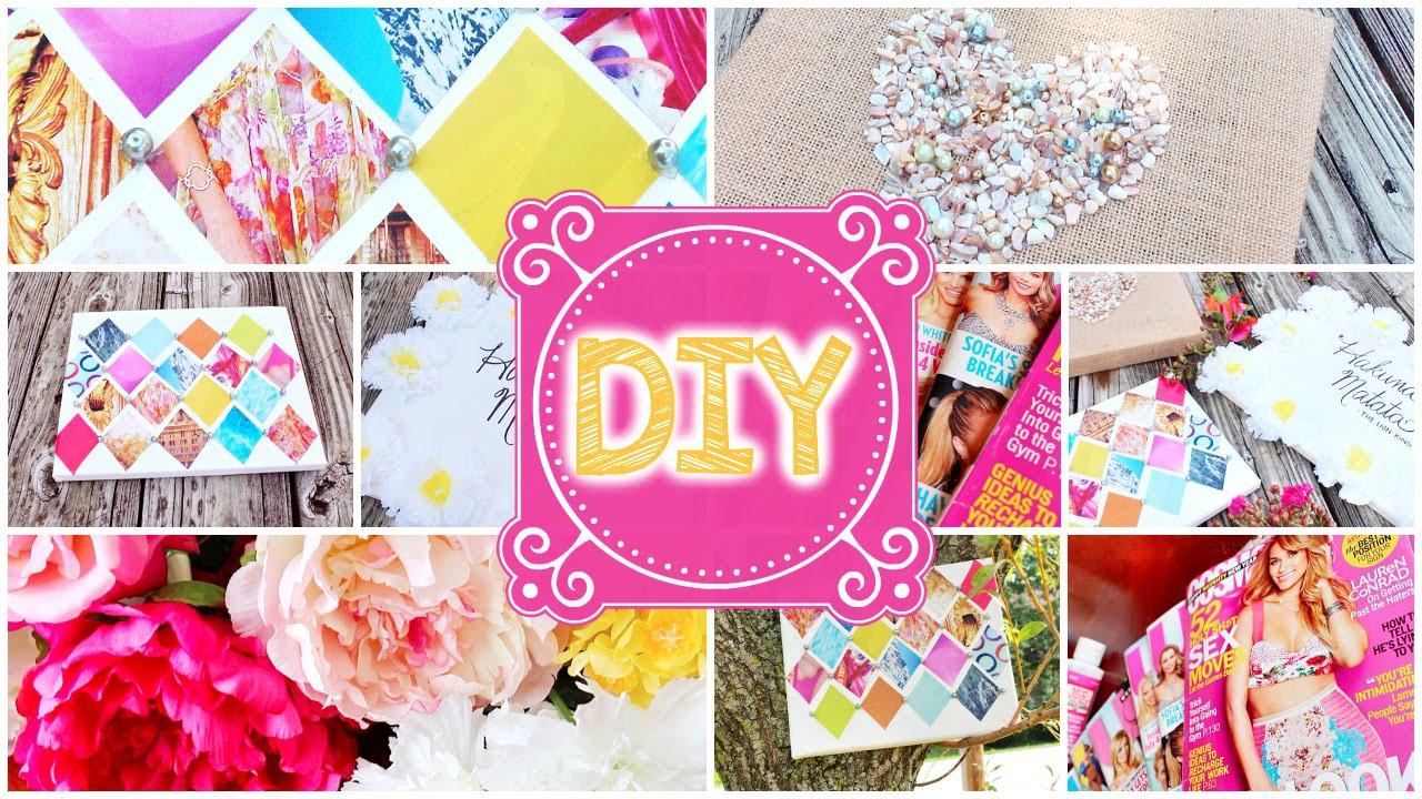 DIY: Cute & Cheap Room Decor |  NabelaNoor