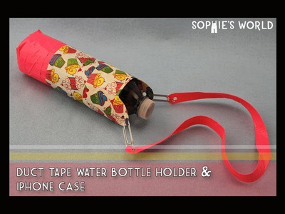 DIY Duct Tape Water Bottle Holder|Sophie's World