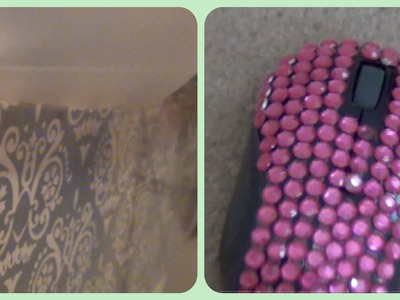 DIY: Glam-ify your Drawers and Mouse