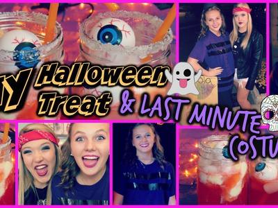 DIY Halloween Treat & Last Minute Costumes!