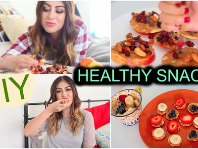 DIY Healthy Snack Ideas for After School